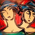 Sisters by Mark Kazav