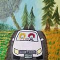 Sisters Road Trip by Deborah Mattas