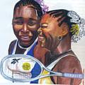 Sisters Williams by Emmanuel Baliyanga