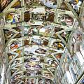 Sistine Chapel by Jon Berghoff