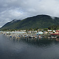 Sitka Alaska From The John O'connell Bridge Is A Cable-stayed Bridge 2015 by California Views Archives Mr Pat Hathaway Archives