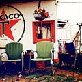 Sitting At The Texaco by Toni Hopper