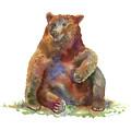 Sitting Bear by Amy Kirkpatrick