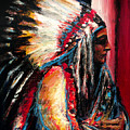 Sitting Bull by Frank Botello