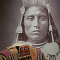 Native American Indian by John R Bryant