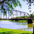 Sitting In Fort Benton by Susan Kinney
