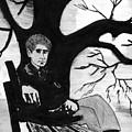 Sitting On The Bench by Kostas Koutsoukanidis
