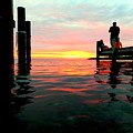 Sitting On The Dock Of The Bay by Mark Lemmon