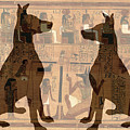 Sitting Proud Dogs And Ancient Egypt by Karla Beatty