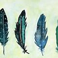Six Feathers by Koni Webb Bosch