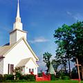 Six Mile Methodist Church by Thomas R Fletcher