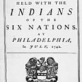 Six Nations Treaty, 1742 by Granger