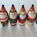 Six Russian Santas by Patricia E Sundik