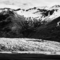 Skaftafell Glacier And End Lagoon With Icebergs Vatnajokull National Park In Iceland by Joe Fox