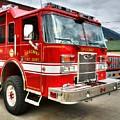 Skagway Fire Truck by Mel Steinhauer