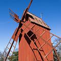 Skansen Windmill by Suzanne Luft