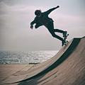 Skater Boy 007 by Clayton Bastiani