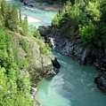 Bulkley River Canyon by Frank Townsley