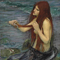 Sketch For A Mermaid by John William Waterhouse