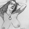 Sketch For Ashley by Ray Agius
