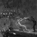 Sketch For Between Rounds by Eakins Thomas