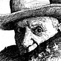 Sketch Of Picasso by Dan Earle