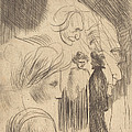 Sketch Plate by Th?ophile Alexandre Steinlen