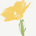 Sketchbook Yellow Rose- Art By Linda Woods by Linda Woods
