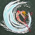 Ski Bunny by V Boge
