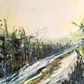 Ski Trail by Linda King