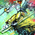 Skiing 11 by Miki De Goodaboom