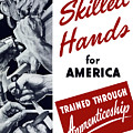 Skilled Hands For America by War Is Hell Store