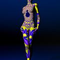 Skin Deep by Sandra Bauser Digital Art