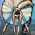 Skinny Ballerina. by John Cox