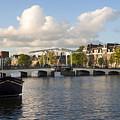 Skinny Bridge In Amsterdam by Yefim Bam