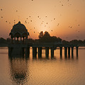 Skn 1372 Sunrise Flight by Sunil Kapadia