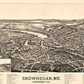 Skowhegan Maine 1892 by Mountain Dreams