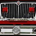 Skowhegan Maine Firetruck Grill by Michele A Loftus