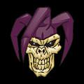Skull 7 T-shirt by Herb Strobino