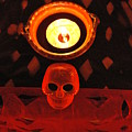 Skull And Candle by Jose Luis Montes