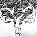 Skull Art by Sara Matthews