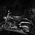 Skull Harley by Tim Dangaran