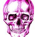 Skull In Purple by Aleksandra Savova