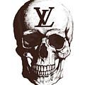 Skull Lv Braun by Del Art