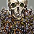 Skull N Thorns by Kevin Middleton
