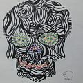 Skull by Rodrigo Maldonado