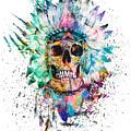 Skull - Wild Sprit by Riza Peker