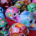 Skulls Day Of The Dead  by Chuck Kuhn