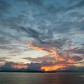 Peaceful Sky #2 by Joan Blease