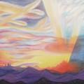 Sky Ablaze by Suzanne  Marie Leclair